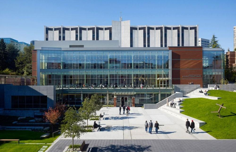 Seattle University Lemieux Library Mcgoldrick Learning Commons Project Architype