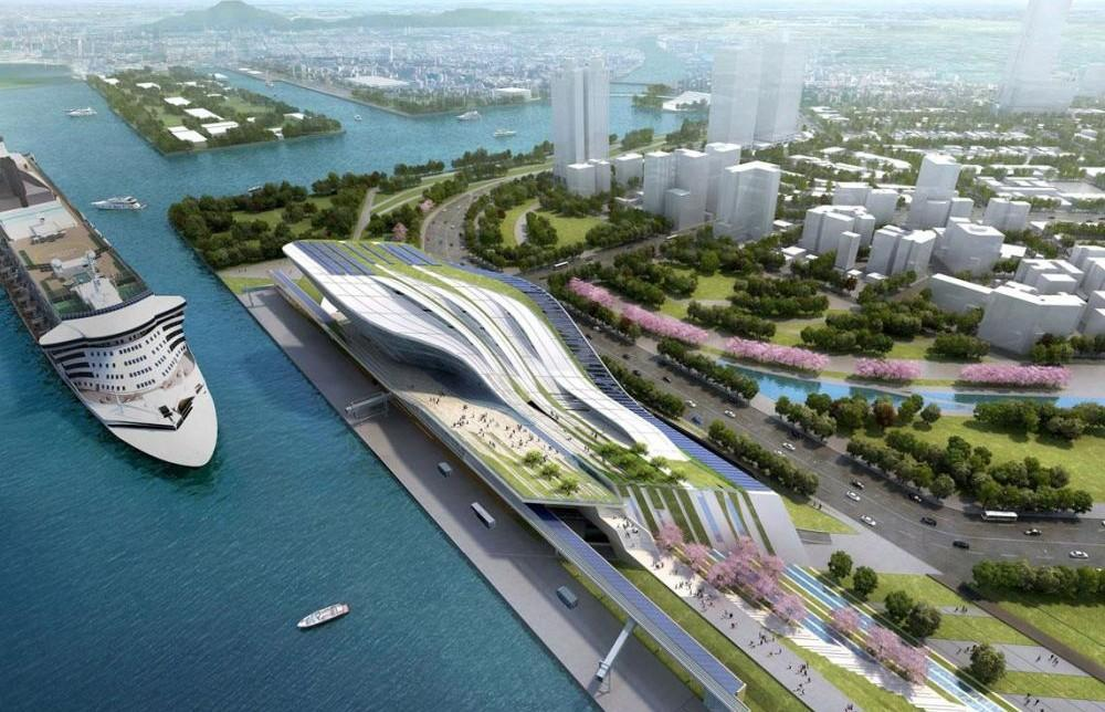 Kaohsiung Port And Cruise Service Center Project Architype - Port design