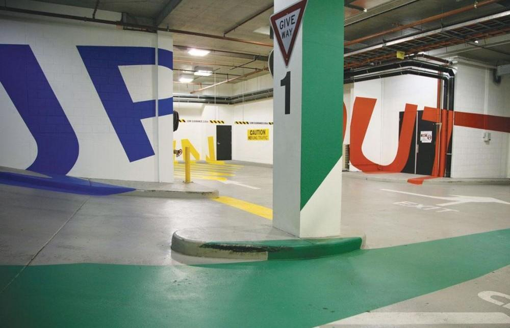 Eureka Tower Car Park Signage Project Architype