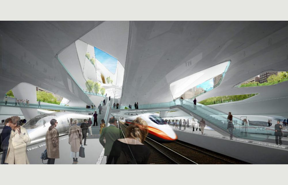 Penn Station And Madison Square Garden Proposal Project Architype