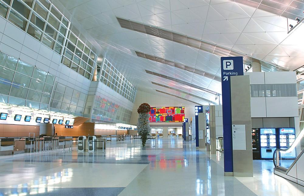 Dfw Airport Terminal D Project Architype