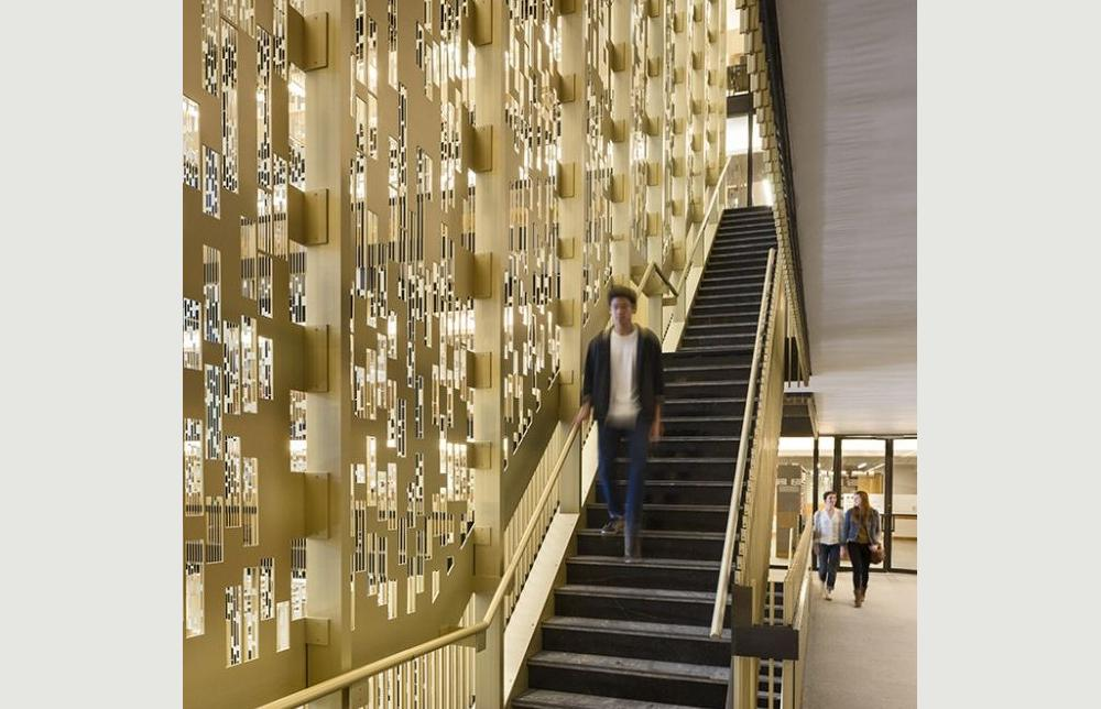NYU Bobst Pixel Veil - Project - Architype