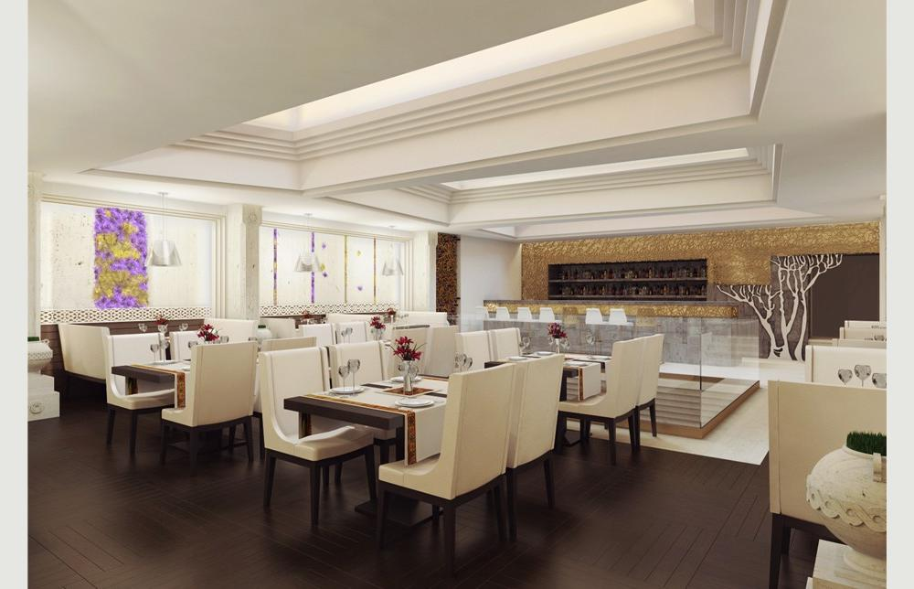 Banquette hall in arax restaurant in moscow project for Plans banquette cuisine