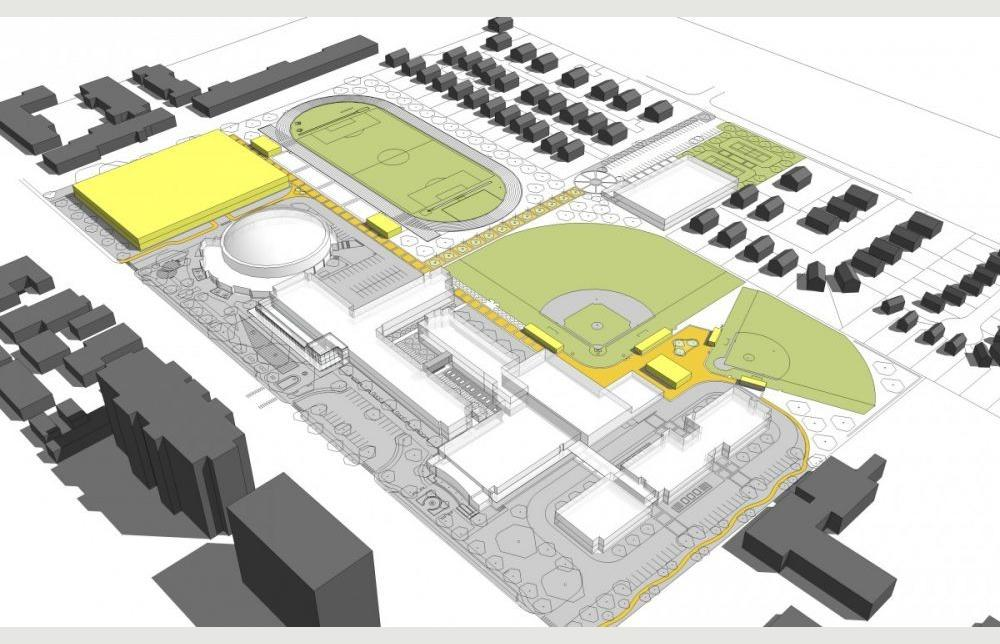 White Station High School Master Plan Project Architype
