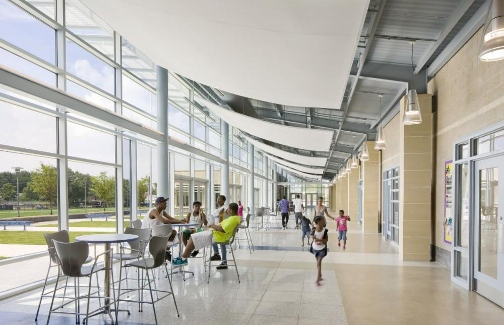 Deanwood Community Center and Library - Project - Architype
