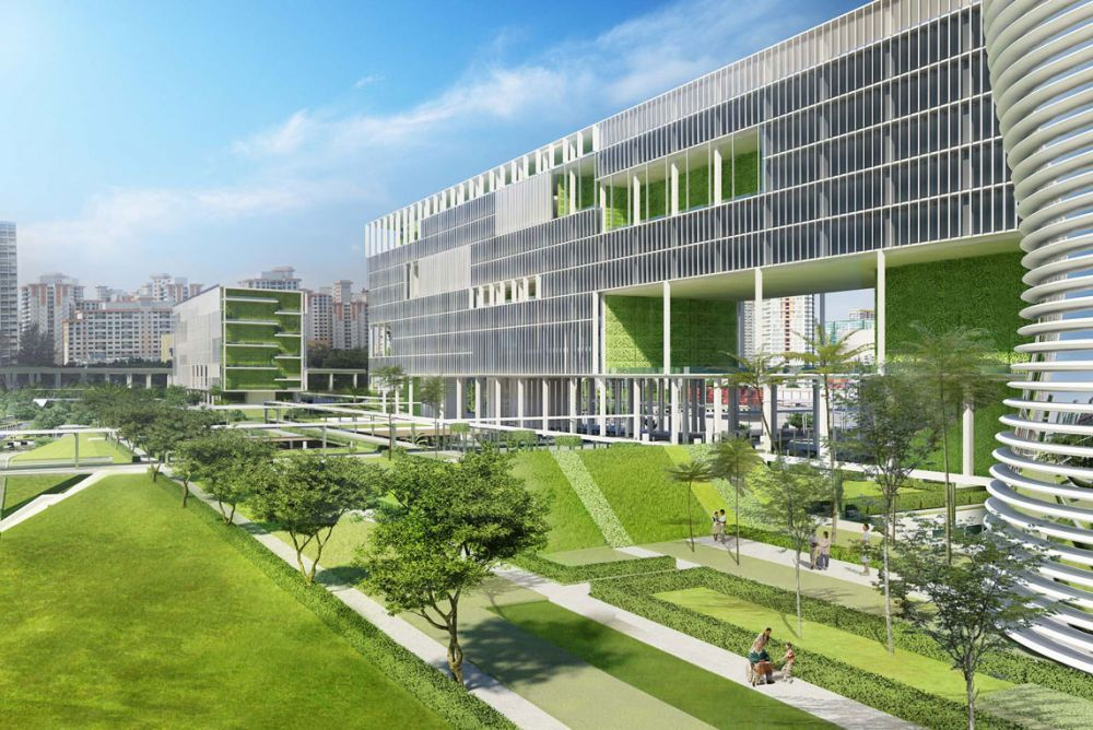 Jurong General Hospital Project Architype