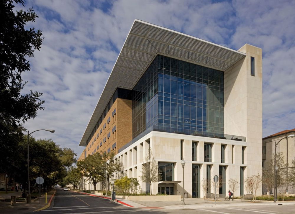 Norman Hackerman Building At The University Of Texas Austin Project Architype