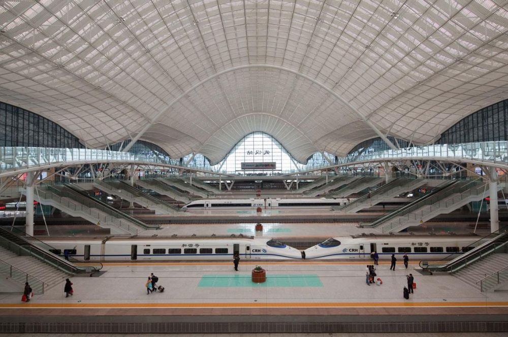 Wuhan New Railway Station Project Architype